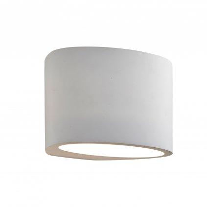 8721 GYPSUM svítidlo na stěnu 1xG9 sádrové svítidlo