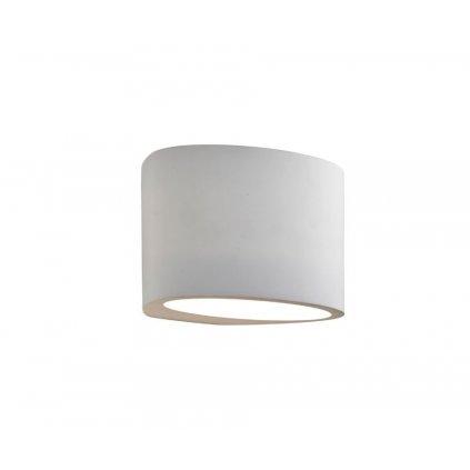 8721 GYPSUM 1xG9 nástěnné svítidlo bílá