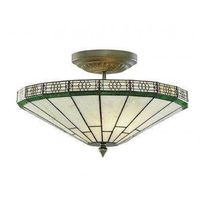 4417 17 NEW YORK stropní svítidlo Tiffany