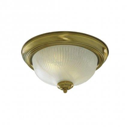 7622 11AB stropní světlo kulaté antická mosaz obchod svitidla pikomal