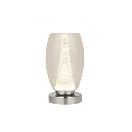 EU97293 1CL stolní lampa dekorativní chrom sklo obchod svitidla pikomal