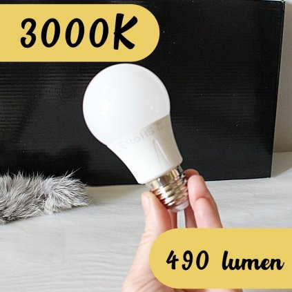 30328 žárovka barva 3000K teplá bílá 6w e27 ledlam obchod svitidla pikomal