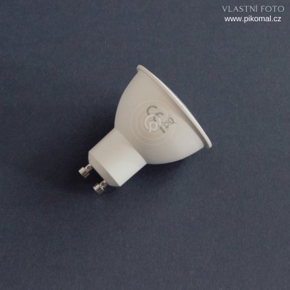 žárovka s paticí GU10 bílá 6W 3000K teplá bílá barva světla obchod svitidla pikomal dagmar touskova