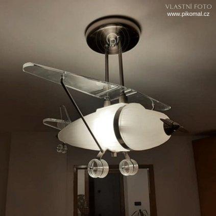 letadlo světlo do pokojiku pro chlapce dagmar touskova searchlight pikomal detail 1