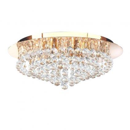 3408 8GO stropní svitidlo zlatá křišťál obchod svitidla pikomal