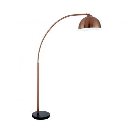 EU914CU stojací lampa do tvaru oblouk měď obchod svitidla pikomal