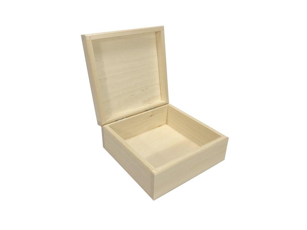 krabička čtverec 16x16x7 cm 002