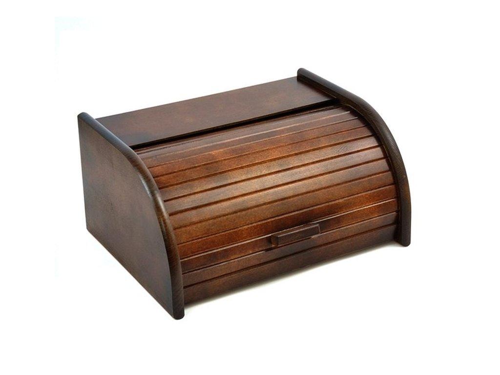 Chlebník CLASSIC 39,5x18x29 cm Brown