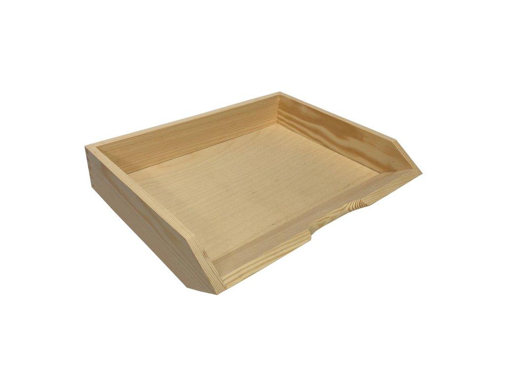 Dřevěný pořadač 001