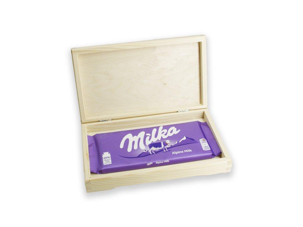 krabička s čokoládou