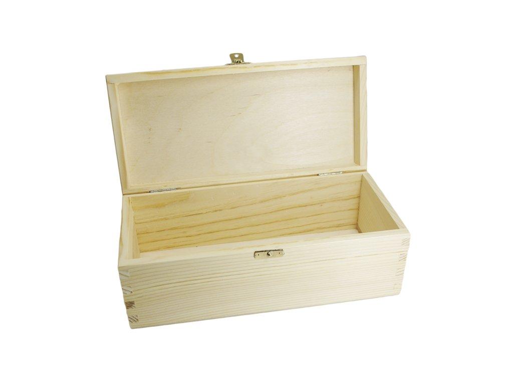 krabička obdelník s víkem