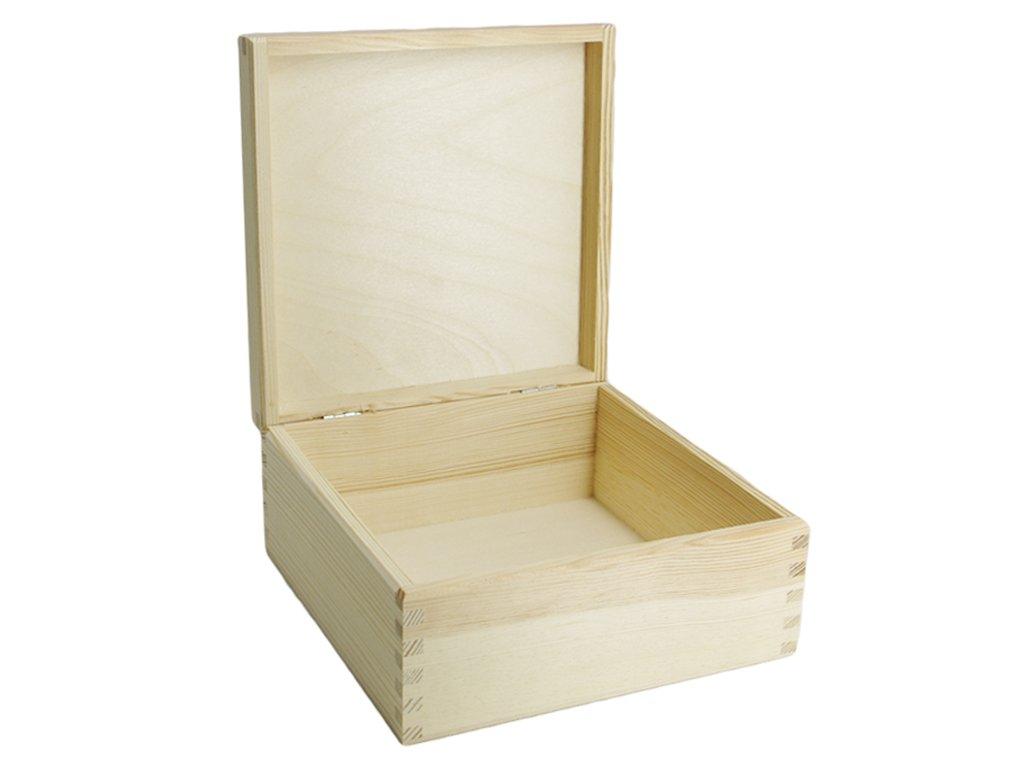 krabička čtverec velká otevřená)