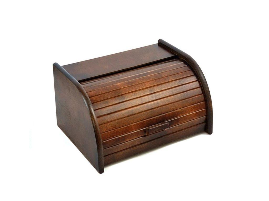 Chlebník CLASSIC malý 30x16x28 cm Brown