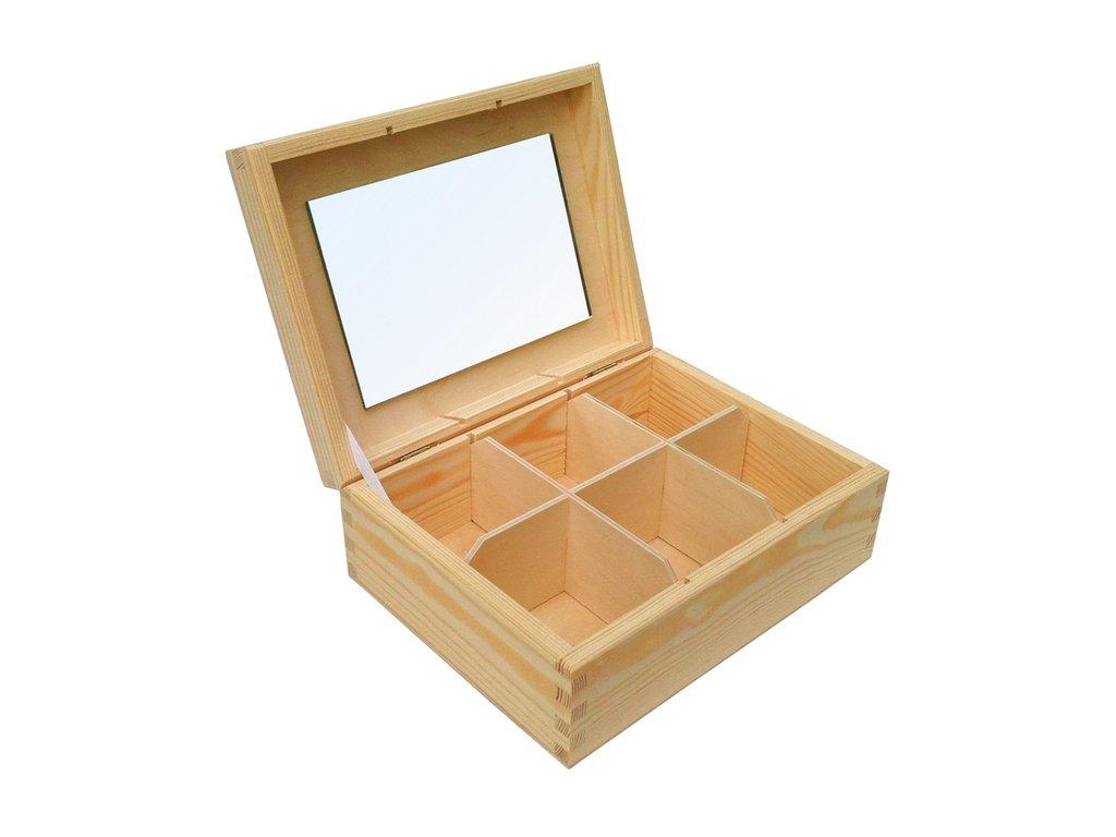 Dřevěná šperkovnice SEI