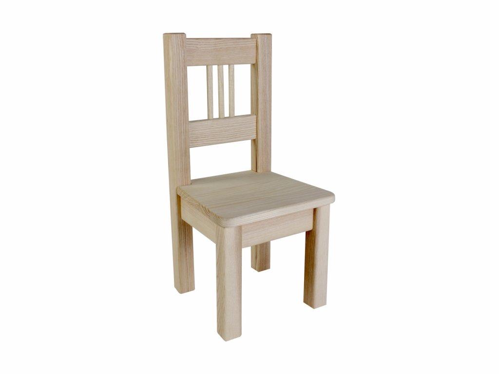 Dřevotéka Dětská židle BORNE natur