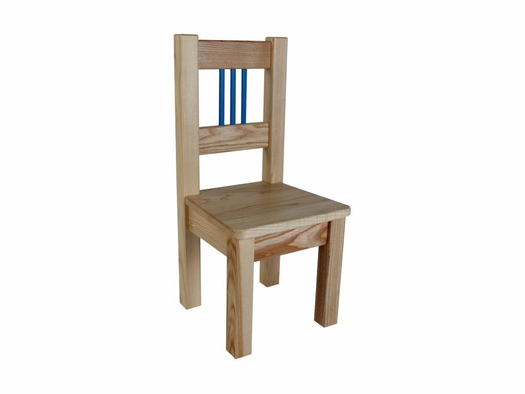 Dětská židle BORNE modrá