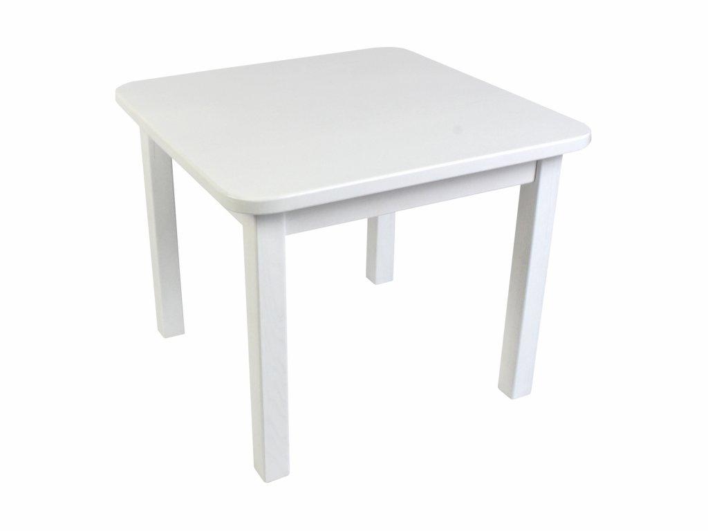 Dětský stůl BORNE bílý