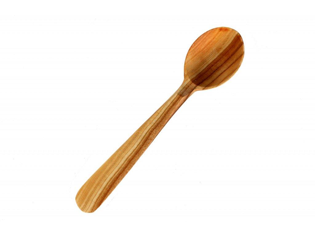 Dřevěná třešňová lžíce velká