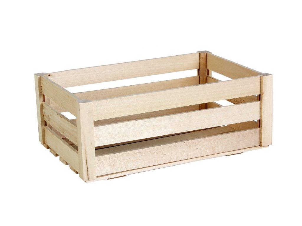 Dřevěná Bedýnka velká 32x22x12,5cm4a