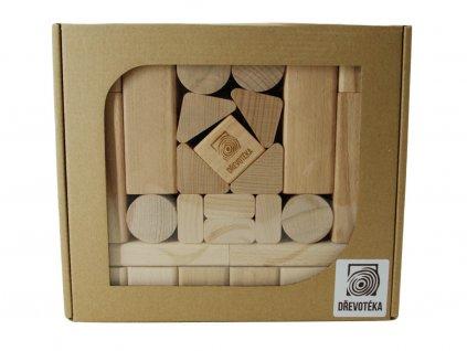 dětské kostky velké box