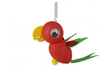 papoušek červený
