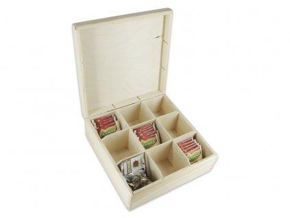 krabička na čaj 4x3