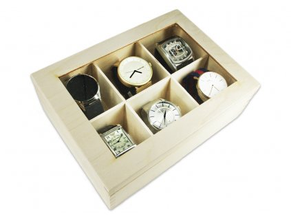 krabička s hodinkami