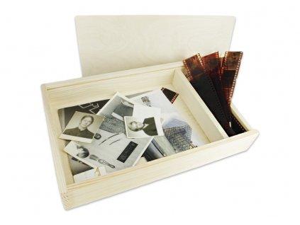 krabička na fotografie velká