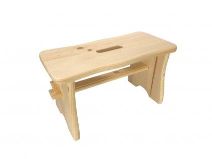 Dřevěná stolička štokrle