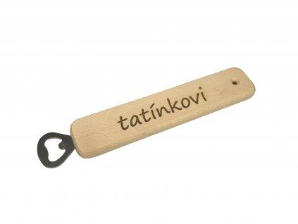 Dřevěný otvírák | Tatínkovi