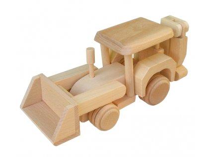 Dřevěný bagr TOMMY 1