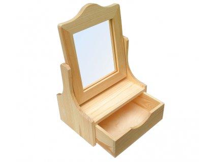 Dřevěná šperkovnice UNO