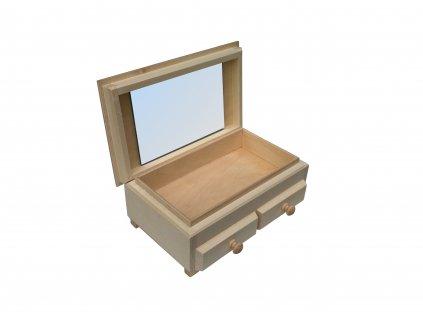 Dřevěná šperkovnice TRE GRANDI