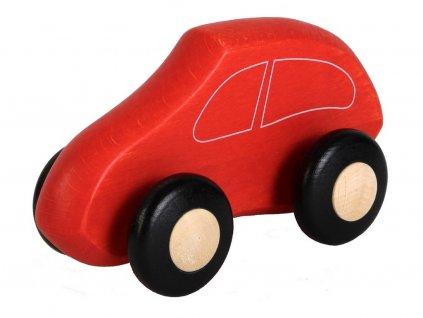 Červené autíčko pro nejmenší