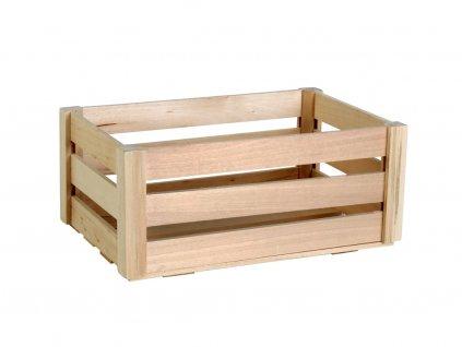 Dřevěná bedýnka střední 28,5x18,5x12,5cm3a