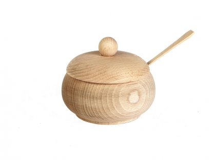 Dřevotéka Dřevěná Cukřenka střední s dírou SPOON