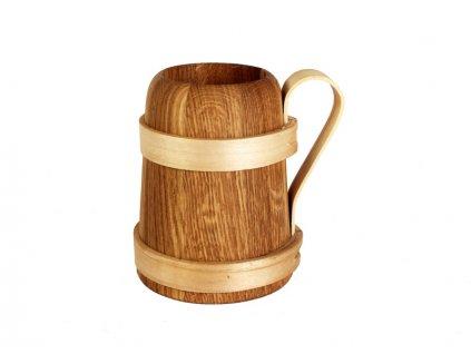 Dřevěný korbel ATTRITA