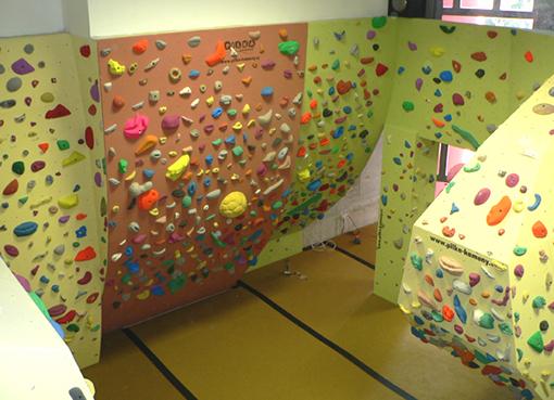 Boulderové stěny