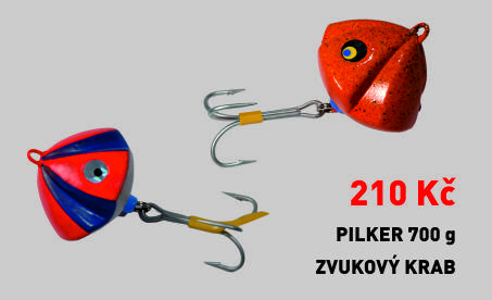 Pilker zvukový hrab 700 g