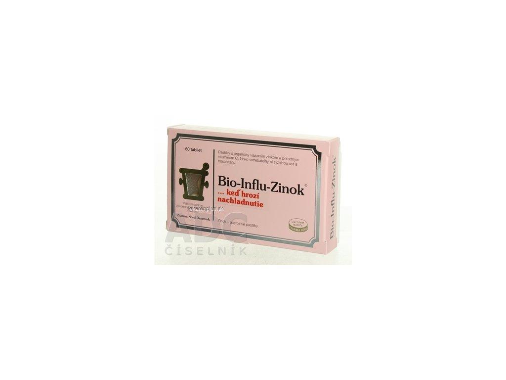 Bio-INFLU-ZINOK tbl 1x60 ks