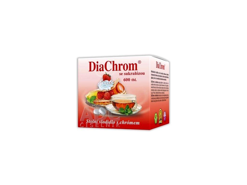 DiaChrom so sukralózou tbl 1x600 ks