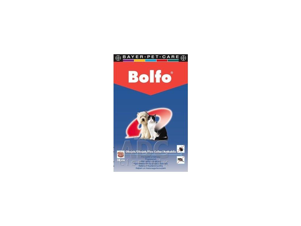 BOLFO obojok pre mačky a malých psov obvod 38 cm, 1x1 ks