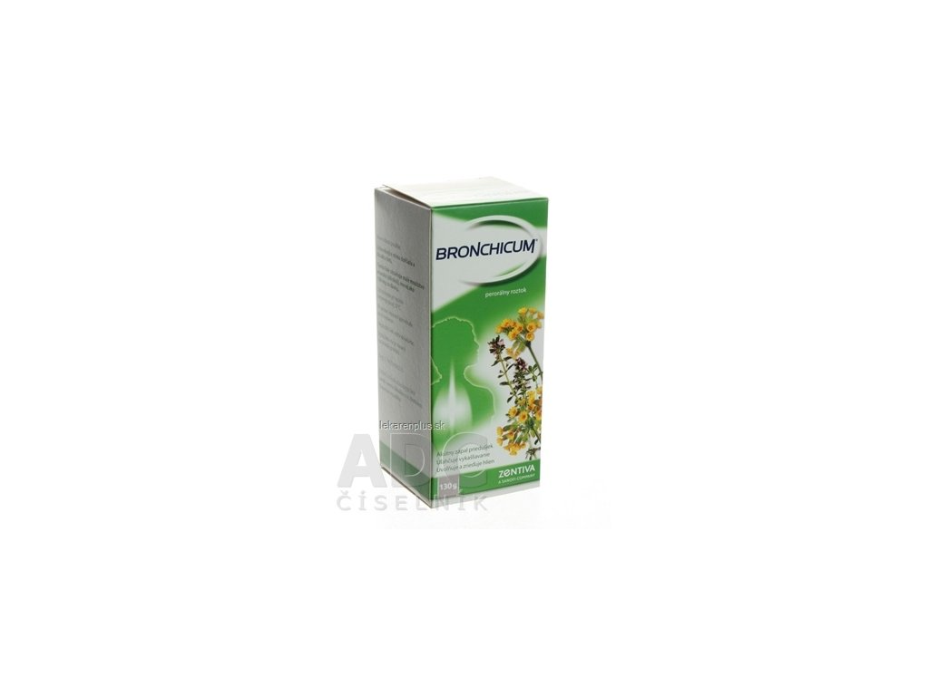 BRONCHICUM sol por (fľ.skl.) 1x100 ml (130 g)