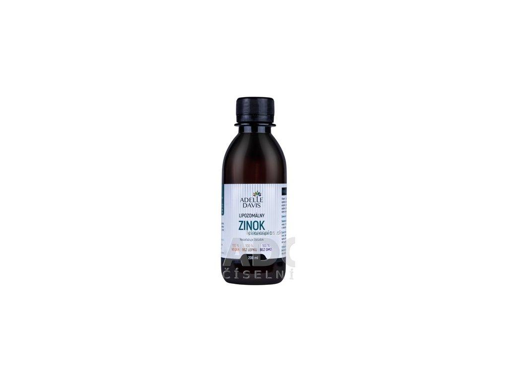 ADELLE DAVIS Lipozomálny ZINOK s vitamínom C 1x200 ml