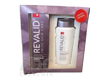 REVALID Anti Hair Loss Promo Set (REVALID REGROWTH SERUM 50 ml + darček: REVALID STIMULATING SHAMPOO 75 ml zadarmo)