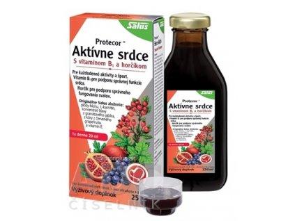 SALUS Protecor Aktívne srdce bylinné tonikum 1x250 ml