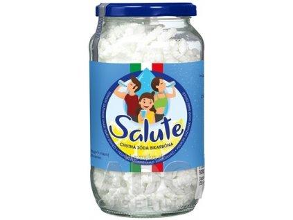 SALUTE chutná sóda bikarbóna šumivý granulát s citrónovou príchuťou 1x250 g