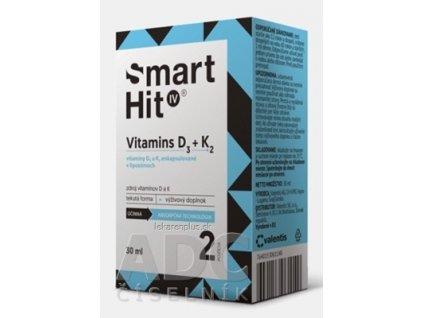 SmartHit IV Vitamins D3 + K2 roztok 1x30 ml