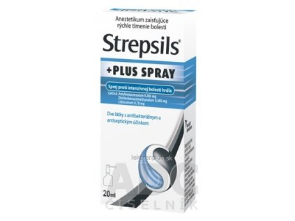 Strepsils PLUS SPRAY aer ora 1x20 ml