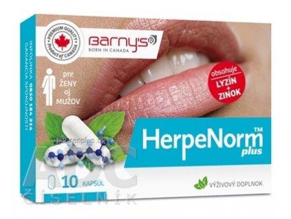 Barnys HerpeNorm plus cps 1x10 ks